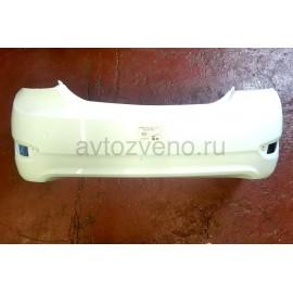Бампер задний Hyundai Solaris (Солярис) (11-14) Белый