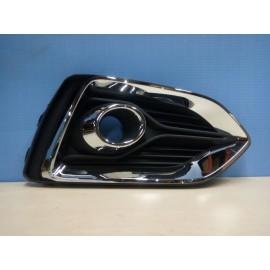 Рамка ПТФ правая Hyundai Solaris (Солярис) (17+) хром