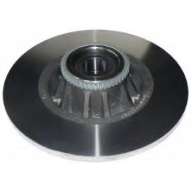 Замена задних тормозных дисков Рено Трафик и Опель Виваро